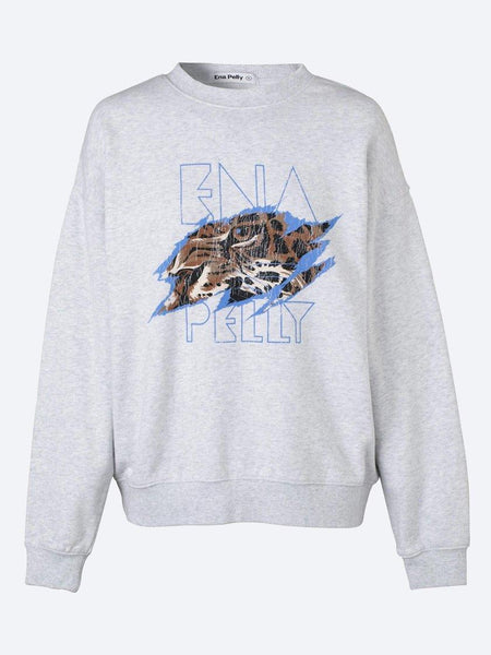 Yeltuor - ENA PELLY - Tops - ENA PELLY TIGERS EYE SWEAT -  -