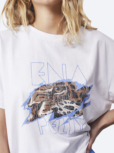 Yeltuor - ENA PELLY - Tops - ENA PELLY TIGERS EYE TEE -  -