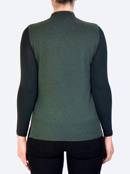 Yeltuor - JAMES MELBOURNE - Knitwear - JAMES MELBOURNE CASHMERE VEST -  -