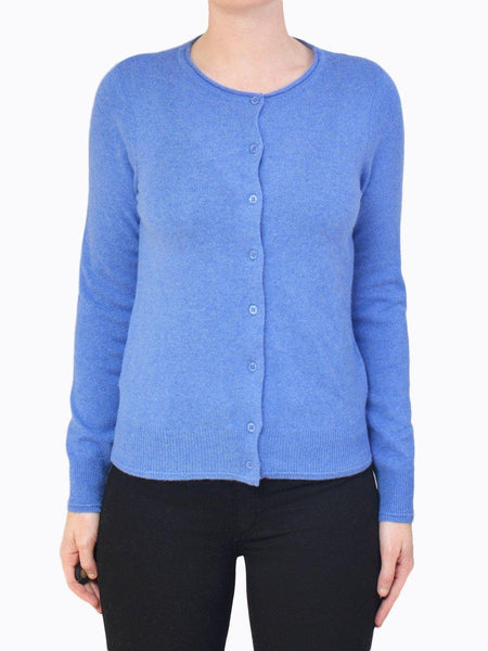 Yeltuor - JAMES MELBOURNE - Knitwear - JAMES CASHMERE PERFECT CARDI - S/FOAM -  XS