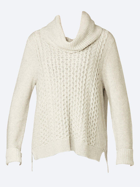 Yeltuor - JUMP - Knitwear - JUMP CABLE FRONT PULLOVER -  -