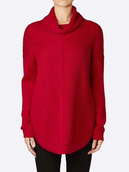 Yeltuor - JUMP - Knitwear - JUMP CABLE HIGH NECK KNIT -  -