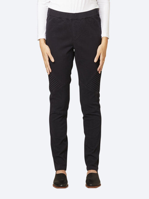 Yeltuor - JUMP - Pants - JUMP RIB DETAIL PULL ON PANT -  -