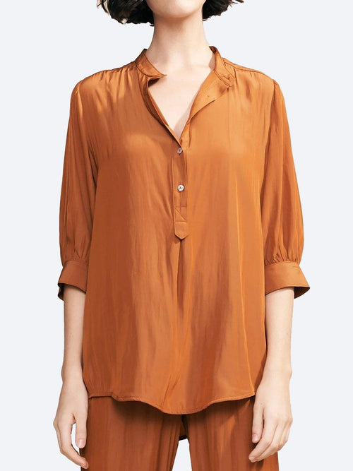 Yeltuor - LAYER'D - Tops - LAYER'D ENTAL SHIRT - CARAMEL -  10