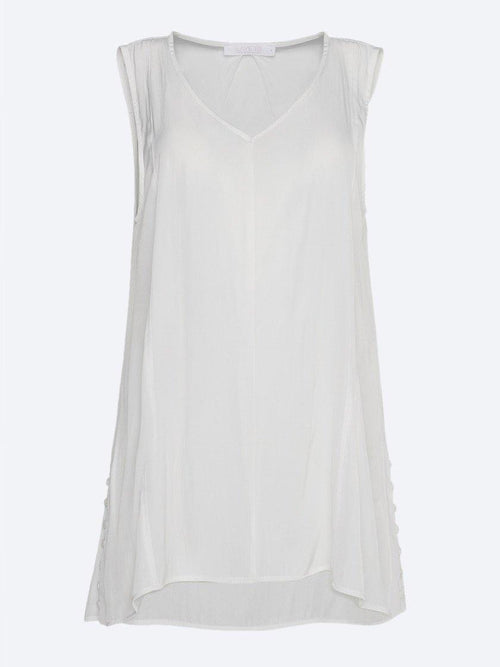 Yeltuor - LAYER'D - Tops - LAYER'D FLYTA BUTTON TANK -  -