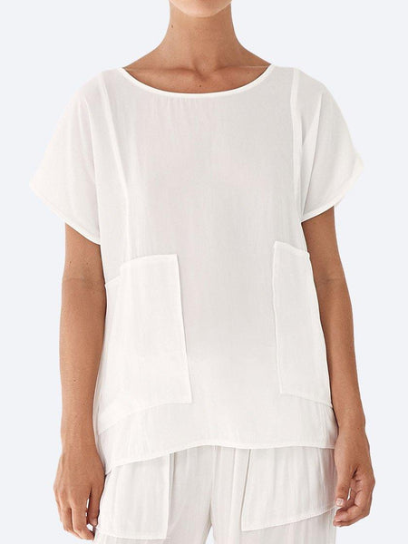 Yeltuor - LAYER'D - Tops - LAYER'D ANPASSA TOP - IVORY -  8