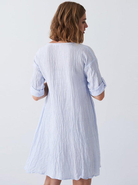 Yeltuor - LAYERED - Dresses - LAYER'D MEDITERE DRESS -  -