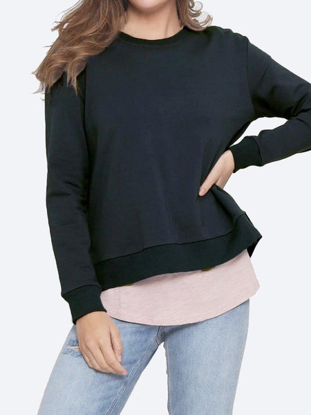 Yeltuor - FOR TWENTYONE - Tops - LEONI HESTON JUMPER - Black -  XS