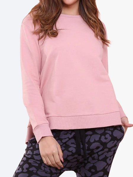 Yeltuor - FOR TWENTYONE - Tops - LEONI HESTON JUMPER - BLUSH -  XS