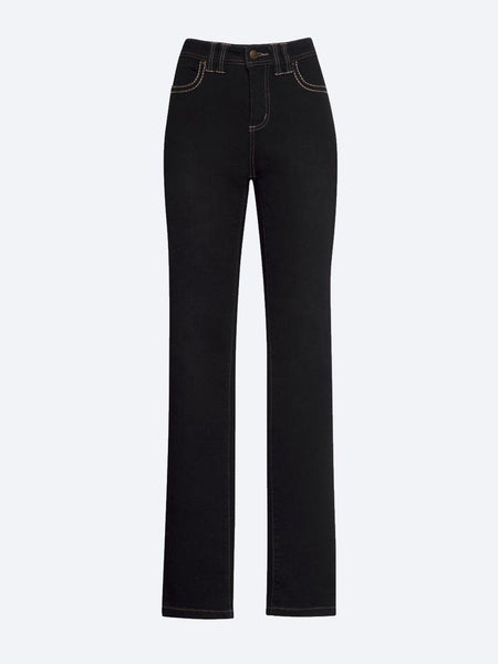 Yeltuor - LOOBIES STORY - Jeans - LOOBIE'S STORY LUXE CLASSIC JEAN - BLACK -  8