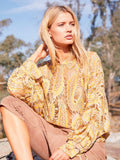 Yeltuor - M.A DAINTY - Tops - M.A DAINTY WHEAT TOP -  -