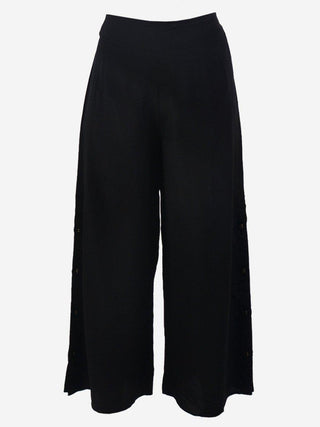 Yeltuor - M.A DAINTY - Pants - M.A. DAINTY FUR BALL SILK PANTS -  -