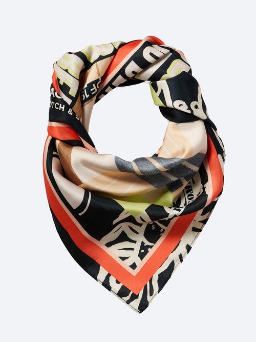 Yeltuor - MAISON SCOTCH - SCARVES - MAISON SCOTCH BAMBOO BEACH SCARF -  -