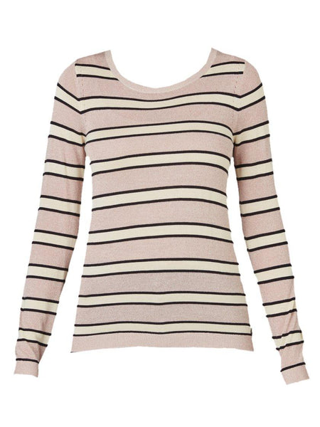 Yeltuor - MAISON SCOTCH - Tops - MAISON SCOTCH LUREX STRIPE KNIT TOP -  -
