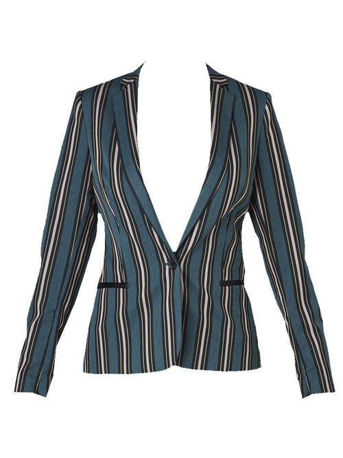 Yeltuor - MAISON SCOTCH - Jackets & Coats - MAISON SCOTCH SIGNATURE STRIPE BLAZER -  -