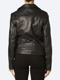 Yeltuor - MAISON SCOTCH - Jackets & Coats - MAISON SCOTCH SIGNATURE LEATHER BIKER JACKET -  -