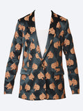 Yeltuor - MAISON SCOTCH - Jackets & Coats - MAISON SCOTCH SNOW LEOPARD PRINT BLAZER -  -