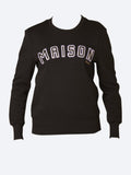 Yeltuor - MAISON SCOTCH - Tops - MAISON SCOTCH ARTWORK PATCH SWEATER -  -