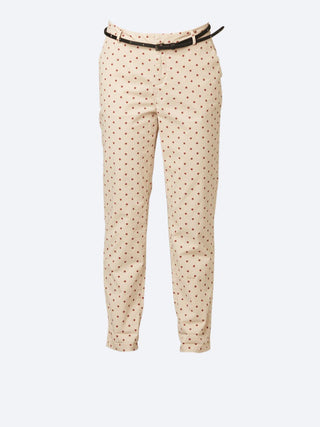 Yeltuor - MAISON SCOTCH - Pants - MAISON SCOTCH STAR PRINT CHINO -  -