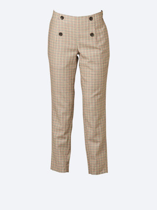 Yeltuor - MAISON SCOTCH - Pants - MAISON SCOTCH TAILORED CHECK PANTS -  -