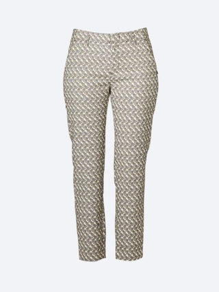 0a89ec52e20f Yeltuor - MAISON SCOTCH - Pants - MAISON SCOTCH TAILORED JACQUARD PANTS - -