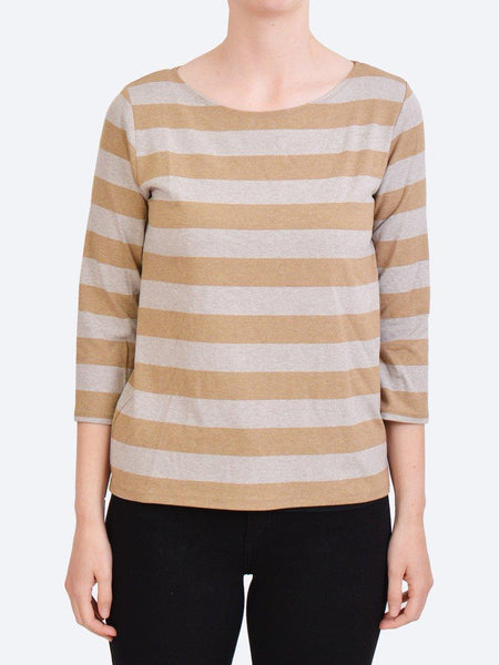 MELA PURDIE PITCH SWEATER - COMPACT KNIT