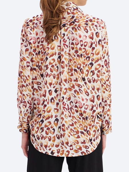 Yeltuor - MELA PURDIE - Tops - MELA PURDIE SOFT SHIRT - QUARTZ ANIMAL -  -