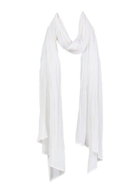 Yeltuor - MELA PURDIE - SCARVES - MELA PURDIE BREEZE WRAP - WHITE -  ALL