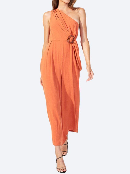 Yeltuor - MINKPINK - Jumpsuits & Playsuits - MINKPINK SUNLIGHT ONE SHOULDER JUMPSUIT -  -