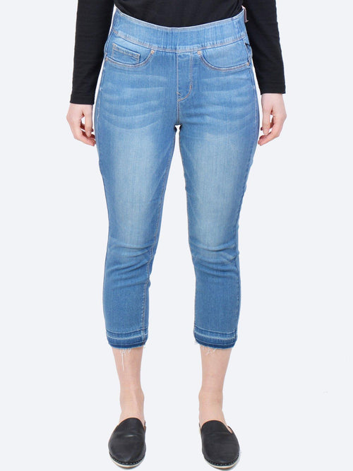 Yeltuor - NYDJ - Jeans - NYDJ SCULPT PULL ON CROP LEGGING -  -
