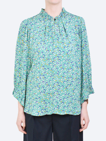 NOA NOA ABSTRACT PRINT BLOUSE