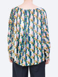 Yeltuor - NOA NOA - SHIRTS - NOA NOA ABSTRACT PRINT BLOUSE -  -