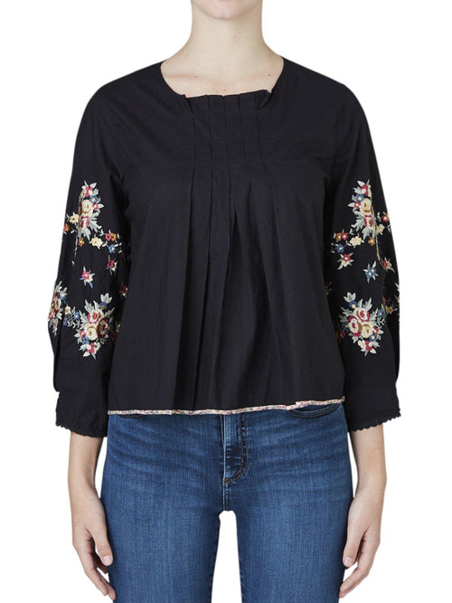 Yeltuor - NOA NOA - Tops - NOA NOA EMBROIDERED TOP -  -