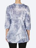 Yeltuor - ONE SEASON - Tops - ONE SEASON POPPY TOP ANTIBES -  -