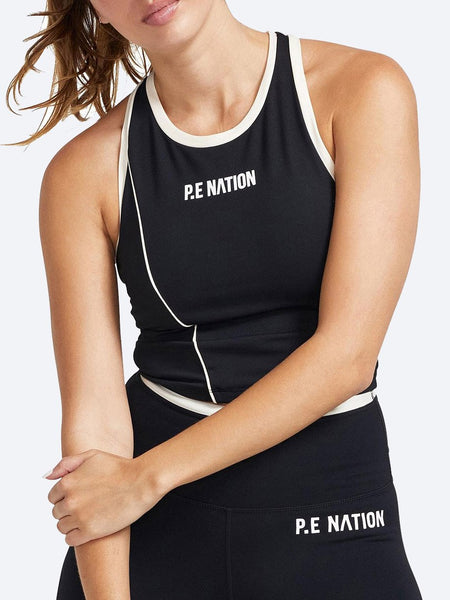 Yeltuor - P.E NATION - Tops - PE NATION MATCH PLAY SPORTS BRA -  -