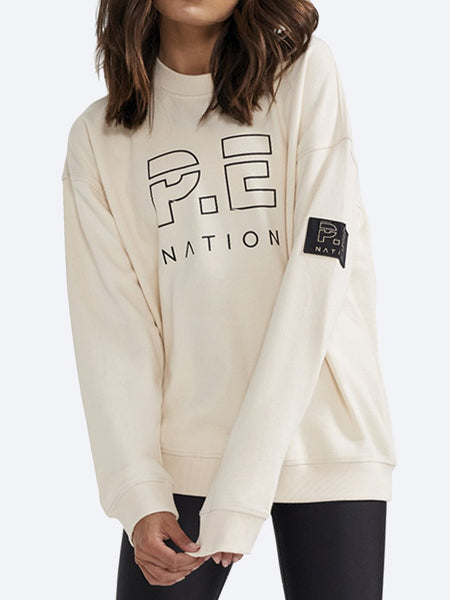 Yeltuor - P.E NATION - Tops - P.E NATION HEADS UP SWEAT -  -