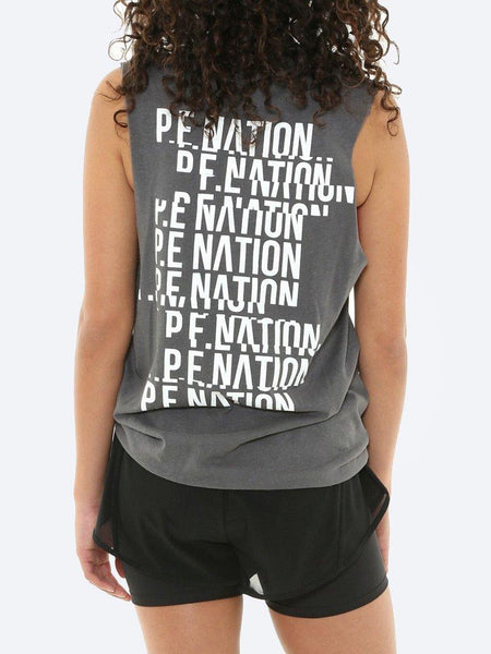 Yeltuor - P.E NATION - Tops - P.E. NATION GOAL LINE TANK -  -