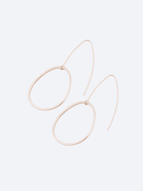 Yeltuor - PETER LANG - JEWELLERY - PETER LANG FINLEY EARRINGS - ROSE GOLD -  ALL