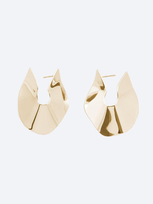 Yeltuor - PETER LANG - JEWELLERY - PETER LANG SAINT EARRING - GOLD -  ALL