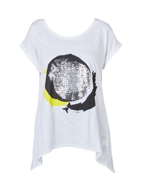 Yeltuor - PING PONG - Tops - PING PONG EMBELLISHED TEE -  -
