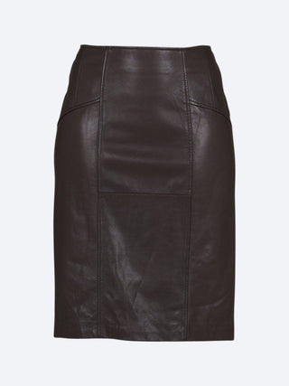 Yeltuor - PING PONG - Skirts - PING PONG LEATHER SKIRT -  -