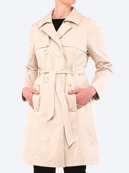 Yeltuor - PING PONG - Jackets & Coats - PINGPONG EVERYDAY TRENCH COAT - SANDY -  8