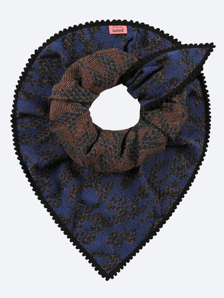 Yeltuor - POM - Accessories & Shoes - POM BRILLIANT BLUE SCARF -  -