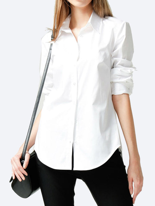 Yeltuor - SACHA DRAKE PTY LTD - Tops - SACHA DRAKE STRETCH COTTON CLASSIC SHIRT -  -
