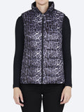 Yeltuor - SABENA - Jackets & Coats - SABENA REVERSIBLE DOWN PUFFER VEST - ANIMAL PRINT-BLACK -  8