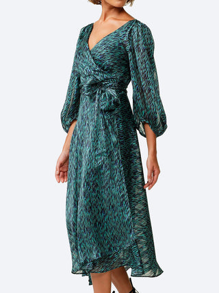 Yeltuor - SACHA DRAKE PTY LTD - Dresses - SACHA DRAKE BARONESS WRAP DRESS -  -