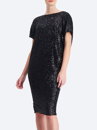 Yeltuor - SACHA DRAKE PTY LTD - Dresses - SACHA DRAKE ANTILLES REVERSIBLE SEQUIN DRESS -  -