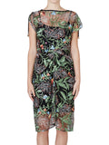 Yeltuor - SACHA DRAKE PTY LTD - Dresses - SACHA DRAKE WISTERIA PERGOLA EMBROIDERED DRESS -  -