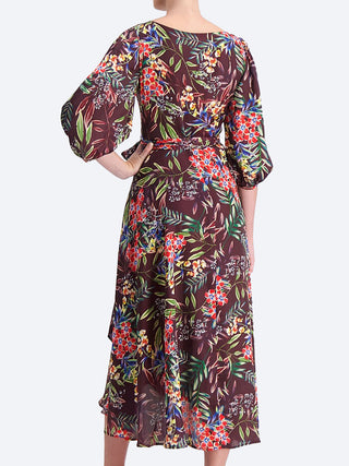 Yeltuor - SACHA DRAKE PTY LTD - Dresses - SACHA DRAKE BLOSSOM SILK WRAP DRESS -  -
