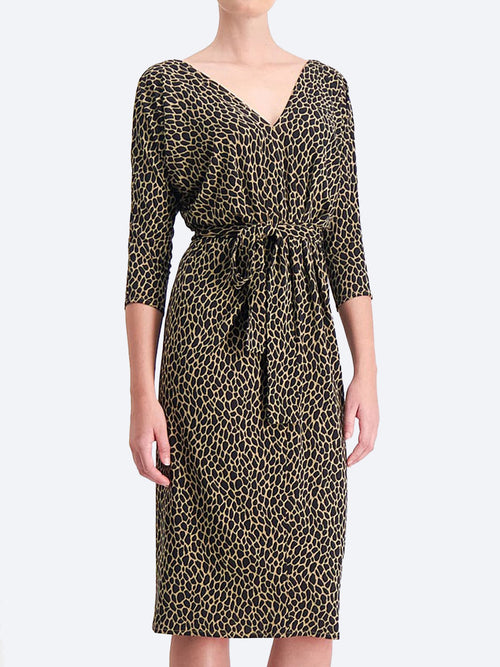 Yeltuor - SACHA DRAKE PTY LTD - Dresses - SACHA DRAKE LAFAYETTE ANIMAL DRESS -  -